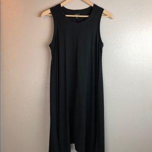 Mossimo Black Cotton Tank Dress Small